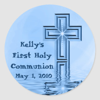 Kelly's First Holy Communion Stickers