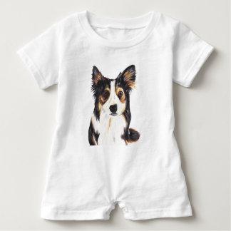 Kelpie Dog Baby Romper