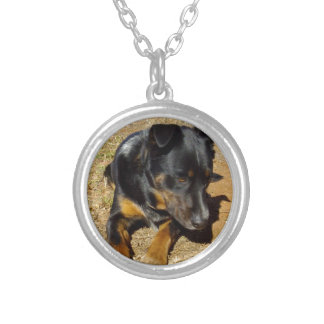 Kelpie_Farm_Life,_ Silver Plated Necklace