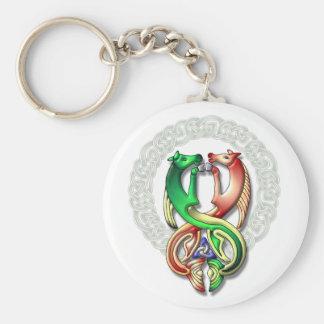 Kelpie frame keychain