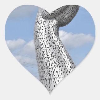 Kelpies 381 heart sticker