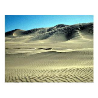 Kelso Dunes, near Death Valley, California, U.S.A. Postcard