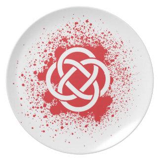 KELTIC-BLOOD PLATE