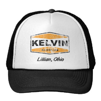 Kelvin Gasoline (Distressed) Trucker Hat