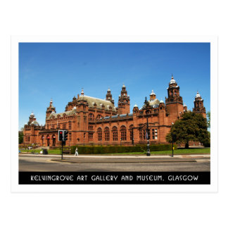 Kelvingrove Art Gallery and Museum, Glasgow Postcard