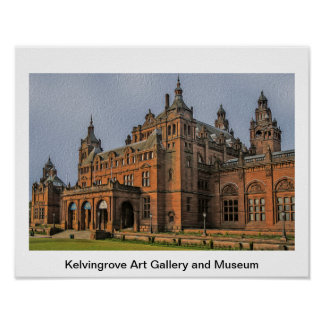 Kelvingrove Art Gallery and Museum, Glasgow Poster