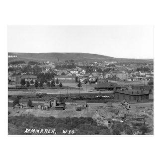 Kemmerer Wyoming, circa 1920 Postcard