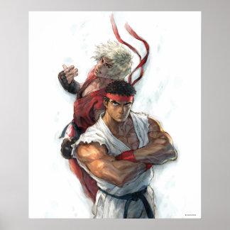 Ken and Ryu Print