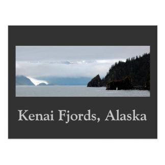 Kenai fjords 30inch panorama, Kenai Fjords, Alaska Postcard