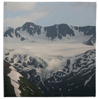 Kenai Mountains, Alaska 2 Napkin