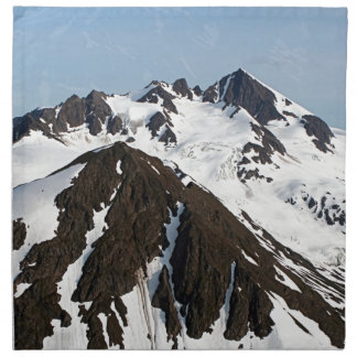 Kenai Mountains, Alaska 3 Napkin