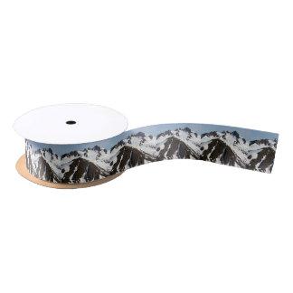 Kenai Mountains, Alaska 3 Satin Ribbon