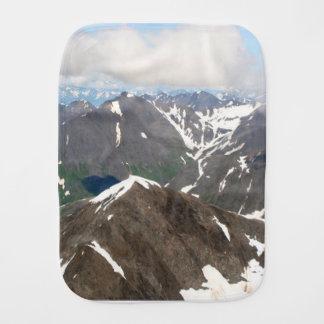 Kenai Mountains, Alaska Burp Cloth