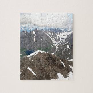 Kenai Mountains, Alaska Jigsaw Puzzle