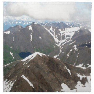 Kenai Mountains, Alaska Napkin