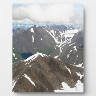 Kenai Mountains, Alaska Plaque