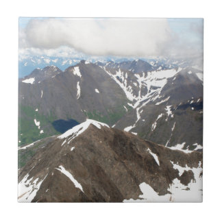 Kenai Mountains, Alaska Tile