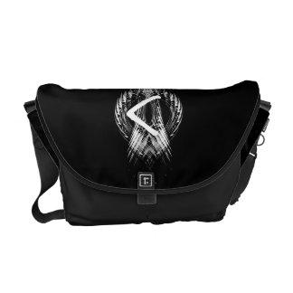 ☼KENAZ – RUNE OF REGENERATION & FIRE☼ COURIER BAG