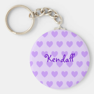 Kendall in Purple Keychain