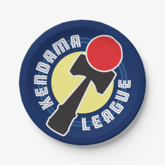 Kendama League 7 Inch Paper Plate