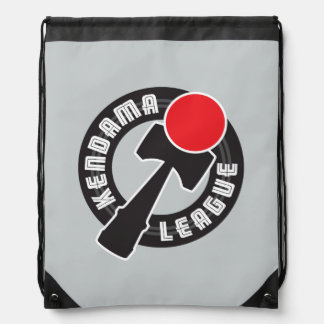 Kendama League Drawstring Bag