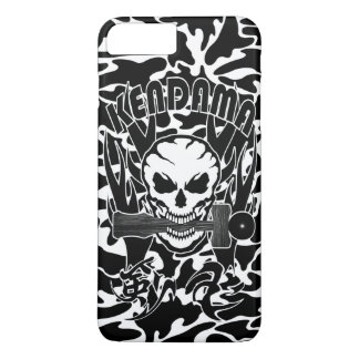 Kendama, Skull, Traditional Japanese toy and Kanji iPhone 8 Plus/7 Plus Case