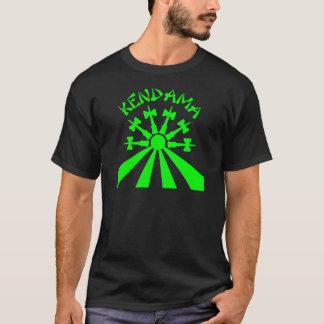 Kendama Sun, neon green T-Shirt