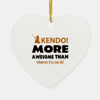 KENDO DESIGN CERAMIC ORNAMENT