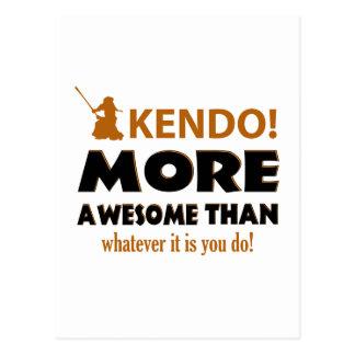KENDO DESIGN POSTCARD