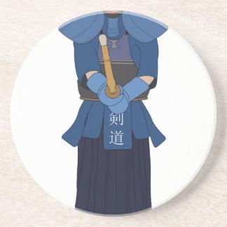 Kendo Fencing Drink Coaster
