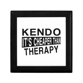 KENDO IT'S CHEAPER THAN THERAPY KEEPSAKE BOXES