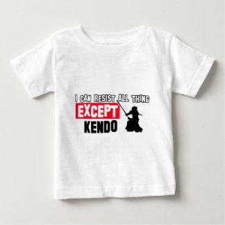 kendo martial design baby T-Shirt