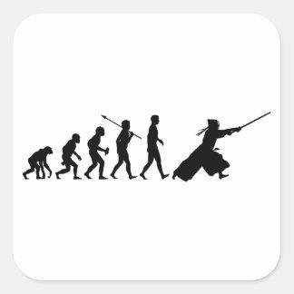 Kendo Square Sticker