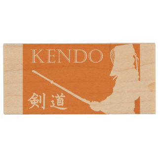 Kendo Wood USB Flash Drive
