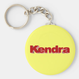 Kendra's yellow key chain