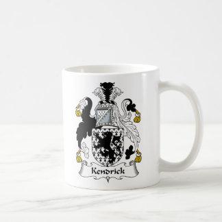 Kendrick Family Crest Coffee Mug