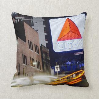 Kenmore Square Boston Throw Pillow