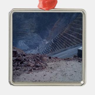 Kennecott Copper Mine Metal Ornament