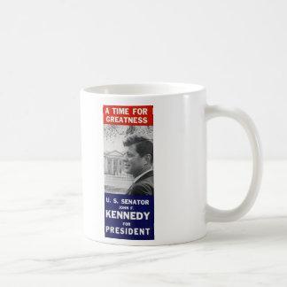 Kennedy - A Time For Greatness Coffee Mug