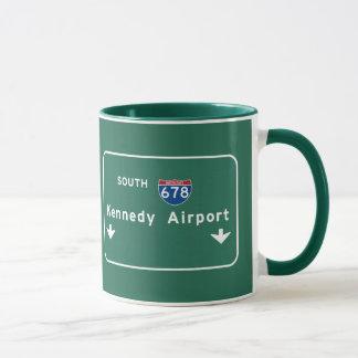Kennedy Airport JFK I-678 NYC New York City NY Mug