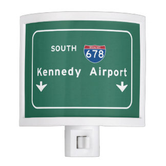 Kennedy Airport JFK I-678 NYC New York City NY Nite Lite