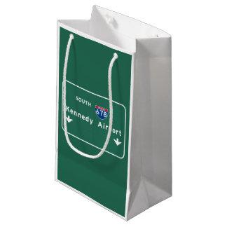 Kennedy Airport JFK I-678 NYC New York City NY Small Gift Bag