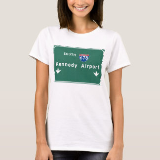 Kennedy Airport JFK I-678 NYC New York City NY T-Shirt