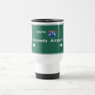 Kennedy Airport JFK I-678 NYC New York City NY Travel Mug