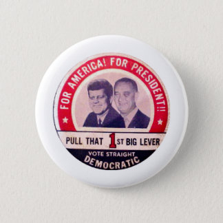 Kennedy and Johnson Campaign 2 Inch Round Button