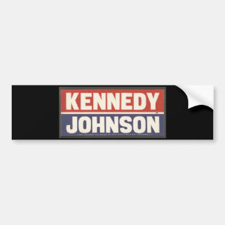 Kennedy and Johnson Sticker