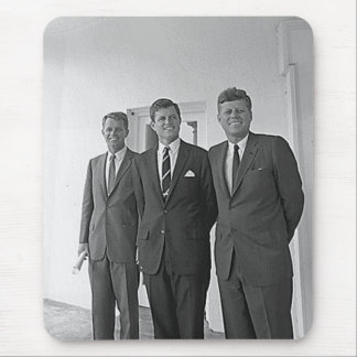 Kennedy Brothers John Ted Robert Mouse Pad
