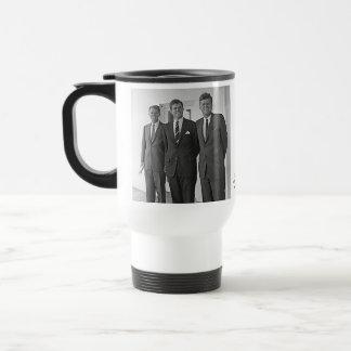 Kennedy Brothers, John, Ted, Robert Travel Mug