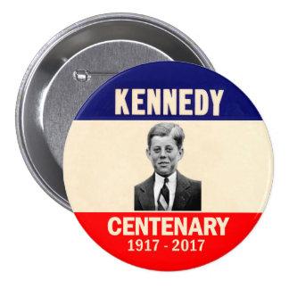 Kennedy Centenary 1917 - 2017 3 Inch Round Button