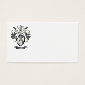 Kennedy Coat of Arms Business Card